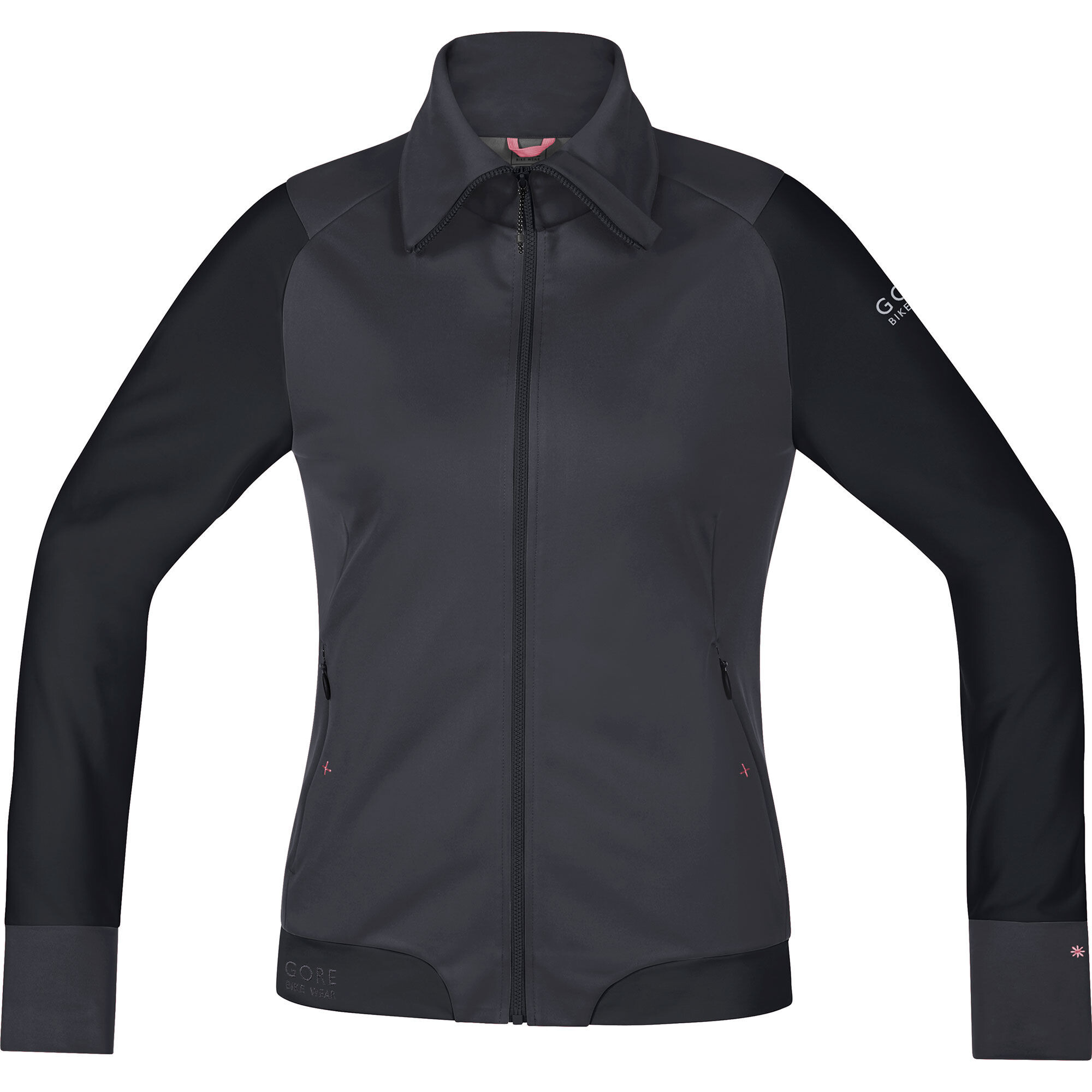 gore bike wear power trail ws jacket women grey at. Black Bedroom Furniture Sets. Home Design Ideas